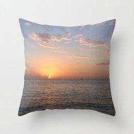 Mexican Sunset Throw Pillow
