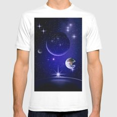 Fantastic yourney into space. Mens Fitted Tee MEDIUM White