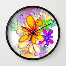 Flow HD by JC LOGAN 4 Simply Blessed Wall Clock
