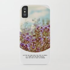And the Day Came iPhone X Slim Case