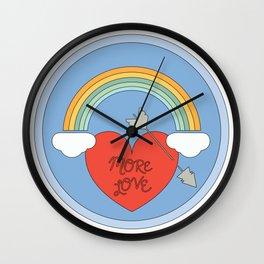 Spread Love Wall Clock