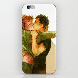 iwaoi kiss iPhone Skin