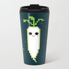 Happy Pixel Daikon Metal Travel Mug