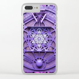 Metatron Clear iPhone Case