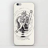 revolution iPhone & iPod Skins featuring Revolution! by Rilke Guillén