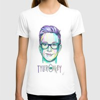 tyler spangler T-shirts featuring Tyler Oakley  by Stephanie Shaw