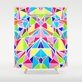 Colorful Machaon Shower Curtain
