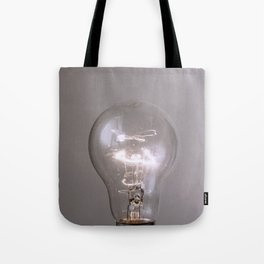 light bulb#miracleidea Tote Bag