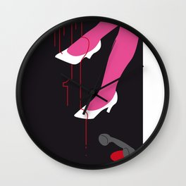 You can't wear white shoes after labour day. Wall Clock