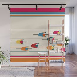 Bicycles Wall Mural