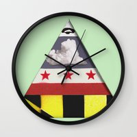 maryland Wall Clocks featuring Maryland by Jason Douglas Griffin