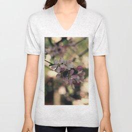 blossum Unisex V-Neck
