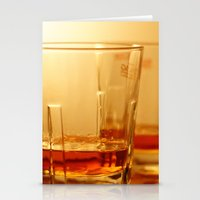 whiskey Stationery Cards featuring Whiskey by Vishal Wadhwani