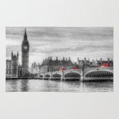 Westminster Bridge and Big Ben Art Rug