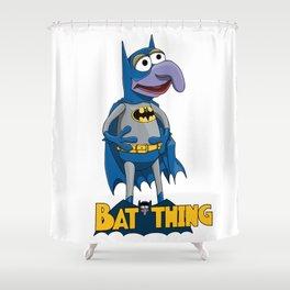 Gonzo the Bat-man Shower Curtain
