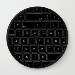 Keyboard Wall Clock