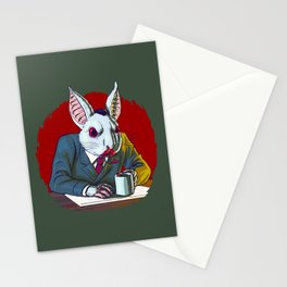 Count Fluffington, Certified Public Accountant, At Your Service Stationery Cards