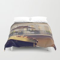 napoleon Duvet Covers featuring Napoleon Corner by Briole Photography