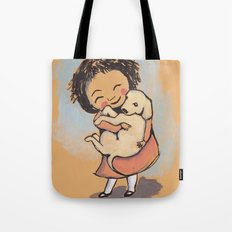 I Love Puppies Tote Bag
