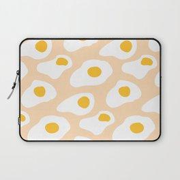 Eggs pattern on pink Laptop Sleeve