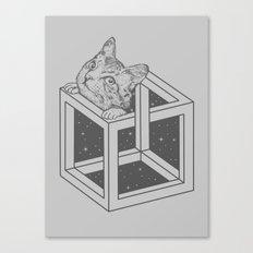 opticat illusion Canvas Print