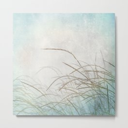 Grasses in the wind #Society6 #nature #buyart Metal Print