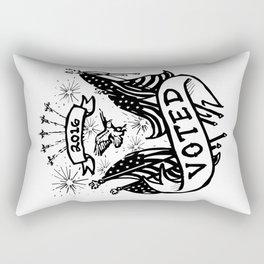 I Voted Rectangular Pillow