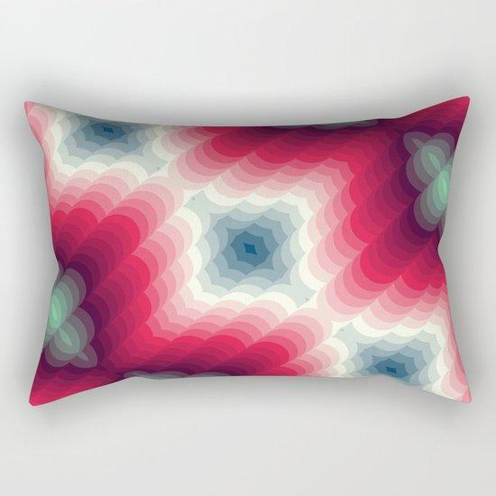Optical Effect Rectangular Pillow