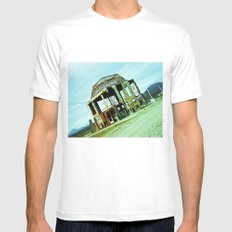 My reconstruction. Mens Fitted Tee White MEDIUM