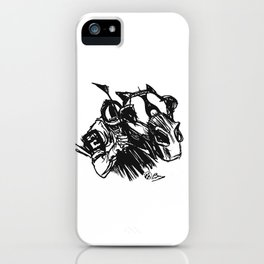 """On The Backstretch"" Horse Racing, Thoroughbred, Saratoga, EQUESTRIAN, iPhone Case"