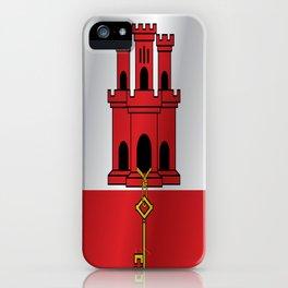 Flag of Gibraltar iPhone Case