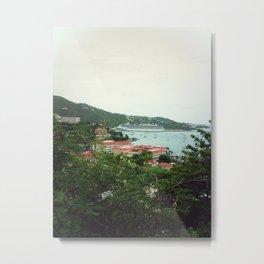 Island Cruise Metal Print