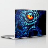 dalek Laptop & iPad Skins featuring EMPEROR DALEK by alexSHARKE