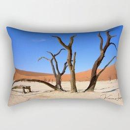 Skeleton tree II Rectangular Pillow