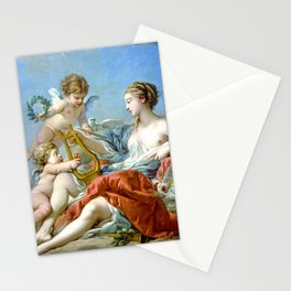 Allegory Of Music Stationery Cards