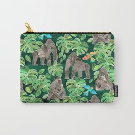 Gorillas in the Emerald Forest Carry-All Pouch