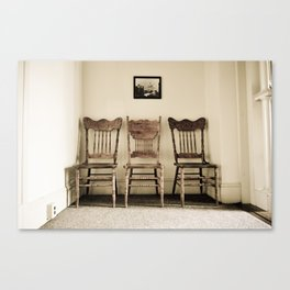 haunted (one) Canvas Print