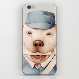 Delivery Dog iPhone Skin