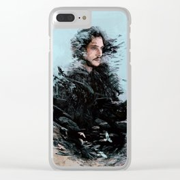 The King in the North Clear iPhone Case