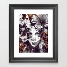 The Wallflower Framed Art Print