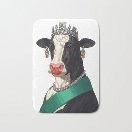 Queen of all Cows Bath Mat