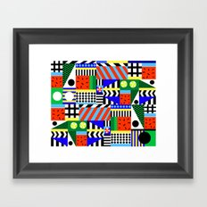 In love with summer Framed Art Print