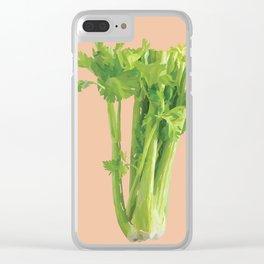 Celery Clear iPhone Case