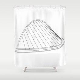 Gateshead Millennium Bridge Shower Curtain