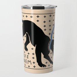 Cave Canem Travel Mug