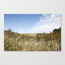 Iowa Countryside Canvas Print
