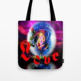Love greetings  by  Airmail. Tote Bag