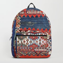 Malatya East Anatolian Kilim Fragment Print Backpack