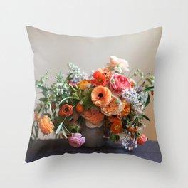 Flower Design 8 Throw Pillow