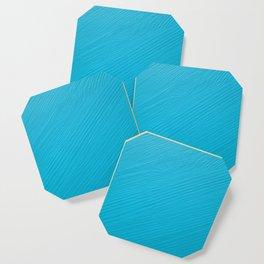 Light blue painted wood background Coaster
